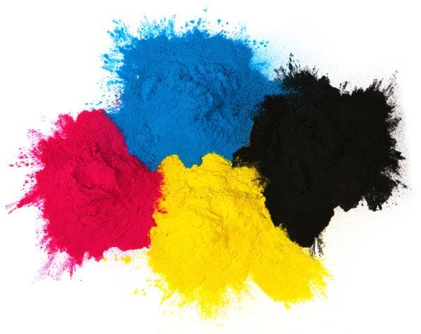 printer colors in full color.